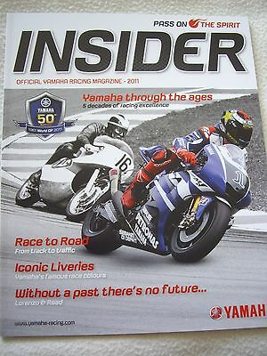 Yamaha Insider magazine 50th anniversary signed by Phil Read & Chas Mortimer