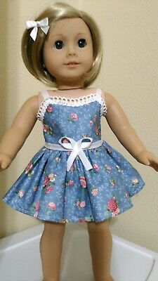 DRESS fits 18 inch American Girl  Doll Clothes  SKIRTS $4 TOPS $2.50 SLIP #151