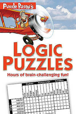Puzzle Baron's Logic Puzzles, Ryder, Stephen P, Very Good Book