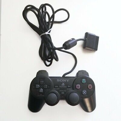 PS2 Official Sony Playstation Dualshock 2 Controller Original Sony PS2 OEM Black