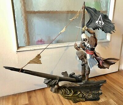 Assassins Creed Black Flag Black Chest Limited Collectors Edition Figur Statue