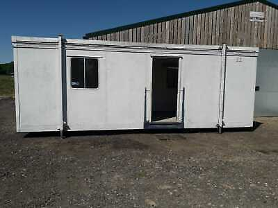 Two Elliott mobile portable units/cabins/office