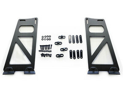 """12"""" Adjustable Universal GT Wing Spoiler Bracket with accessories Brackets only"""