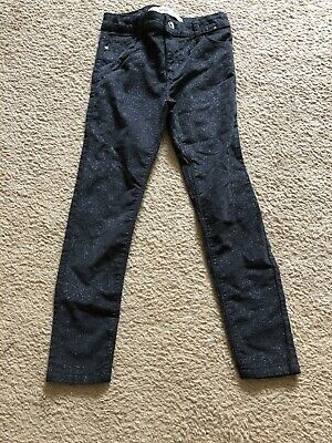 Girls Sparkly Jeans,age 8-9 Years Bnwot