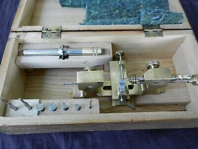 G. Klett Top Lathe Watchmakers Lathe Very Rare And Precise, Very Good Condition
