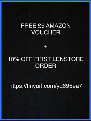 Free £5 Amazon Gift Card + 10% Discount On Contact Lenses @ Lenstore Promo Code