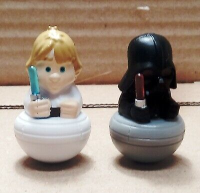 Esselunga Star Wars Darth Vader + Luke Skywalker Spada Luminosa Rollinz 3.0