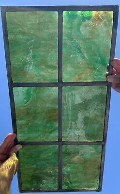 Stained Glass Leaded Window With Opaque Glass