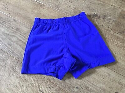 ROYAL BLUE GIRLS SPORTS / SCHOOL SHORTS SIZE 9/10 yrs **99p**