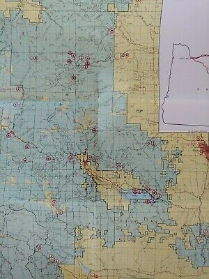 USDAFS BLM USGS Topographic maps/Index ID OR WA MT Maps1967 to 1989 Large Lot 15