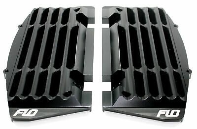 Flo Motorsports FLO751BLK Black High Flow Radiator Braces