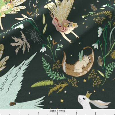Fairy Tale Fabric Printed by Spoonflower BTY