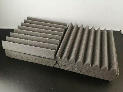 Pro-coustix Ultraflex Wedge Studio Sound Proofing Acoustic Foam Tiles 24 Panels