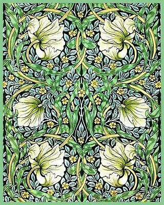 Seaweed William Morris Collection - Van-Go Paint-By-Number Kit 114a