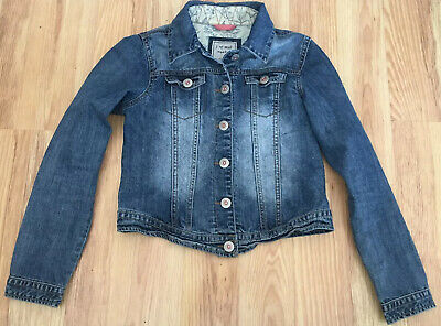 Girls Denim Jacket Age 11-12 Years Teens Next