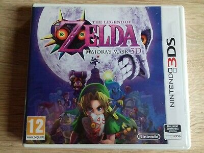 The Legend of Zelda : Majora's Mask 3D (Nintendo 3DS, 2015)