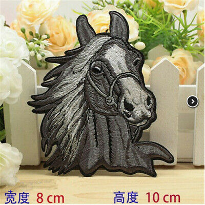 DIY Horse Wild Animal Hunting iron/sew on patch embroidered Cloth Badge Applique