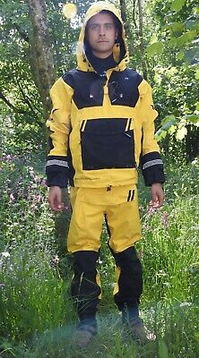 """Typhoon Dry Suit PS220 XTREME (Yellow - Size Medium) User size 5'9"""" - 6'2"""""""