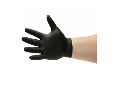 Black Nitrile Gloves 6 Mil Powder-Free Size: X-Large 100 Pieces XL