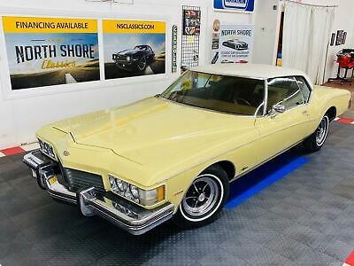 1973 Buick Riviera - BOAT TAIL - 455 ENGINE - FACTORY A/C - Bamboo Cream Buick Riviera with 50,534 Miles available now!