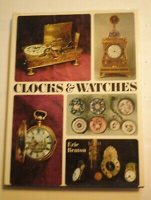 """[#390] Book - """"Clocks and Watches""""  by Eric Bruton"""