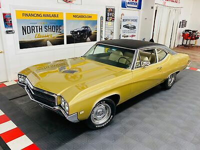 1969 Buick Skylark -GRAN SPORT GS CALIFORNIA 350 RAM AIR- SEE VIDEO Trumpet Gold Poly Buick Skylark with 56,466 Miles available now!