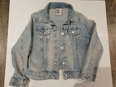 Girls denim jacket age 4-5