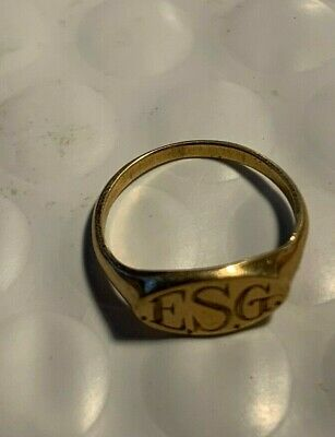 10kt. Gold Baby Ring