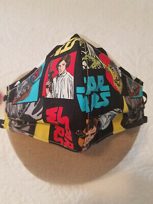 Star Wars-Face mask,USA MADE!!3LAYERS!!!HANDMADE Great Quality!!