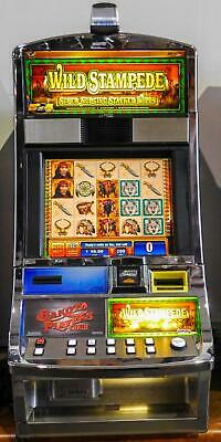 WMS BB1 (Bluebird 1) VIDEO SLOT MACHINE: WILD STAMPEDE
