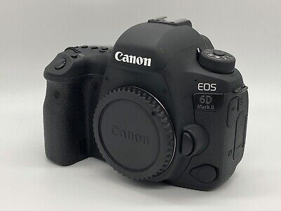 LIGHTLY USED Canon EOS 6D Mark II w/ Battery Grip - Body Only SLR Digital Camera