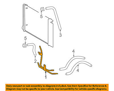 Toyota 32907-02030 Oil Cooler Outlet Tube Sub Assembly