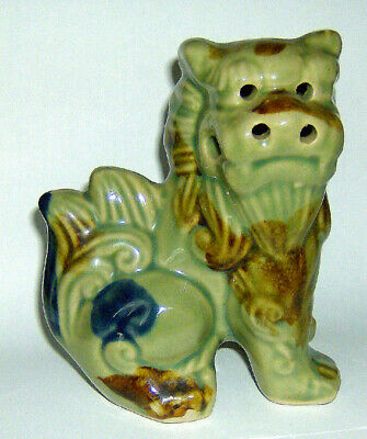 SMALL Lion Dog / Dog of Foo / Temple Dog Chinese Figurine excellent condition