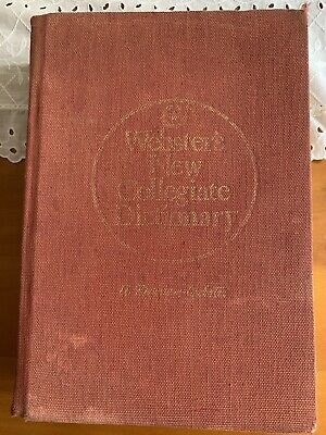 Websters New Collegiate Dictionary by Merriam, Websters