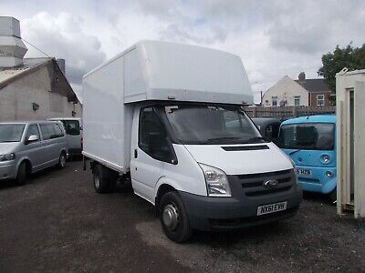 2012 ford transit luton box van with tail lift bargain