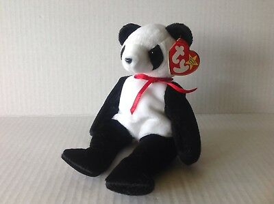 Ty Beanie Baby Fortune the Panda NWMT
