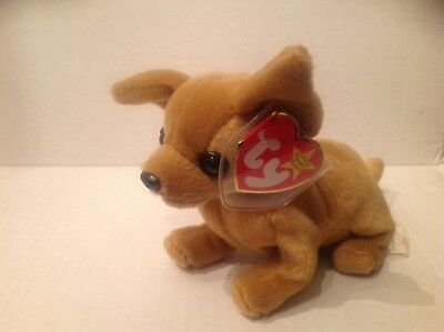 Ty Beanie Original Baby Tiny the Chihuahua NWMT