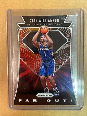 2019-20 Panini Prizm Far Out Zion Williamson Rookie Card RC
