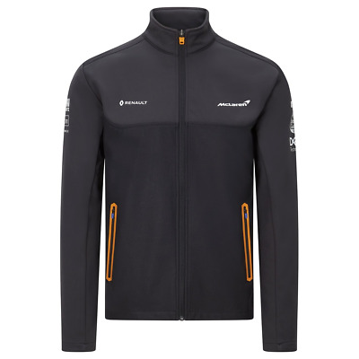 McLaren F1 Men's Official Team Softshell Jacket - 2020 FREE UK SHIPPING