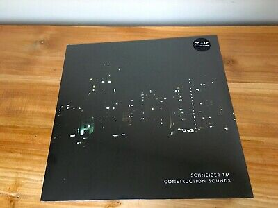 SCHNEIDER™ Construction Sounds LP+CD *SEALED* günter schickert schnitzler