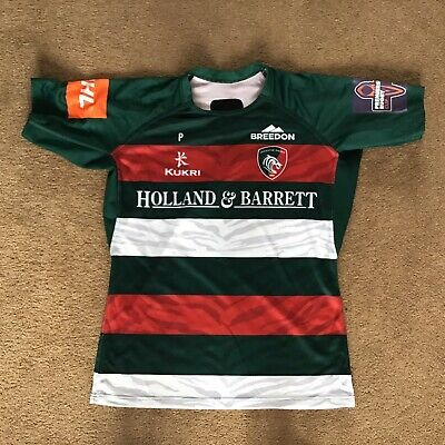 Leicester Tigers Match Worn and Washed Home Shirt - 2XL