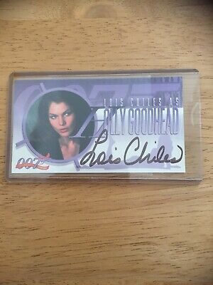 Inkworks 007 Lois Chiles Hand Autographed Trading Card.