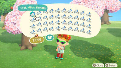 200 Nook Miles Tickets (Animal Crossing New Horizons Switch)
