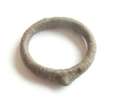 Rare! KNOBBED RING Proto Money Ancient CELTIC Bronze PROTO CURRENCY - 700 BC