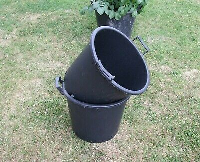 Heavy Duty 30-70 Litre Pots Tree Planting With Handles Vegetable Container