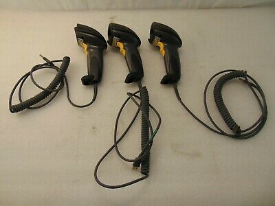 Lot Of 3 Motorola Symbol Ds6708-Sr20007Zzr Wired Laser Barcode Scanners