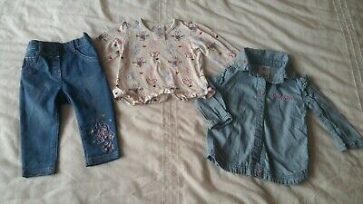 Disney Store Minnie Mouse Baby Girl Clothing 6-9 Months
