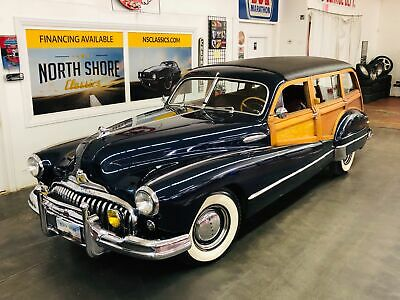 1947 Buick Roadmaster -ESTATE WAGON - SUPER RARE WOODY - MECHANICALLY SO 1947 Buick Roadmaster for sale!