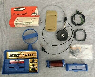 Remco Crystal Radio Kit Complete Never Used Condition (with box)