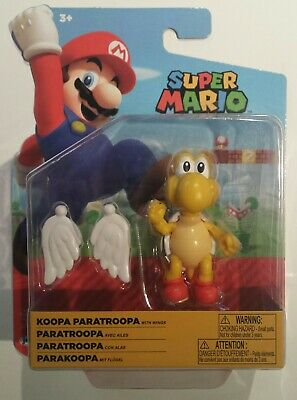 Jakks Pacific World of Nintendo Red Koopa Paratroopa with Wings 4-inch 2020 New!